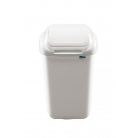 Šiukšliadėžė su dangčiu Standard 30 L, balta