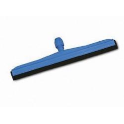 Plastikinis grindų nubrauktuvas su juoda guma