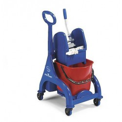 Plastikiis ORION vežimėlis su plastikine rankena ,15 l.